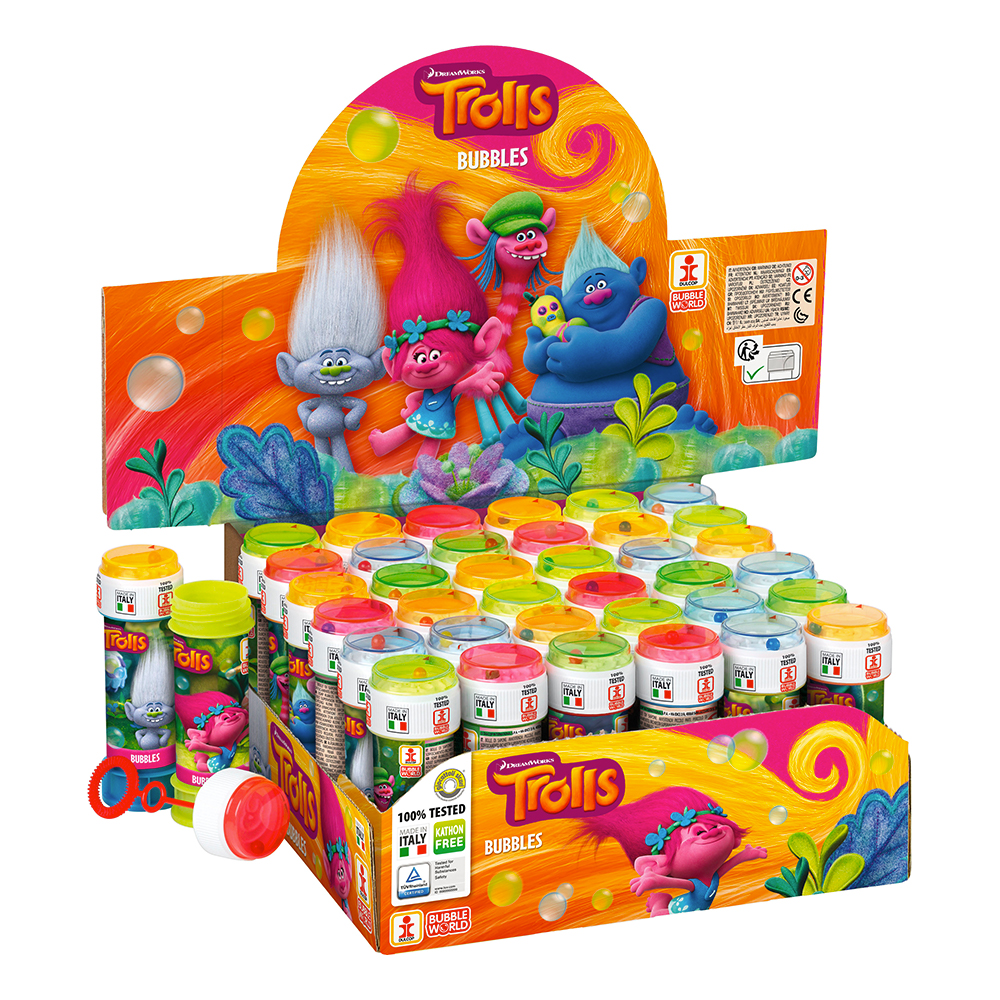 Såpbubblor Trolls - 1-pack
