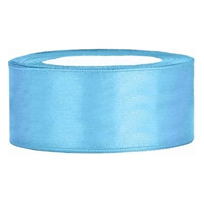 Satinband Ljusblå - 25 mm x 25 m