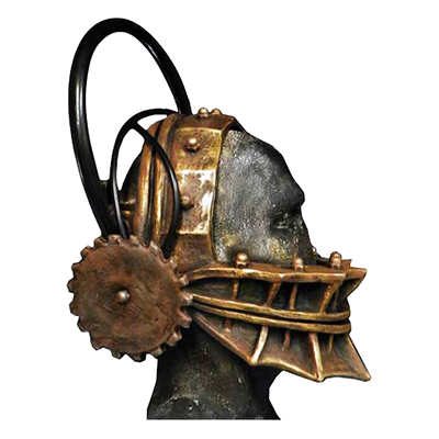 Saw Reverse Bear Trap Mask - One size