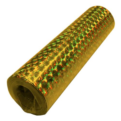 Serpentin Holografisk Guld - 1-pack