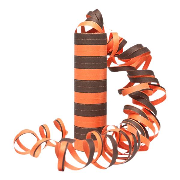 Serpentin Svart/Orange
