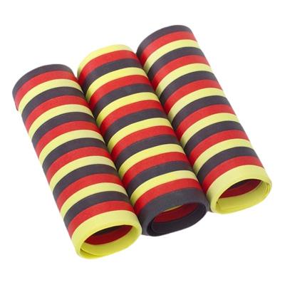 Serpentiner Svart/Röd/Gul - 3-pack