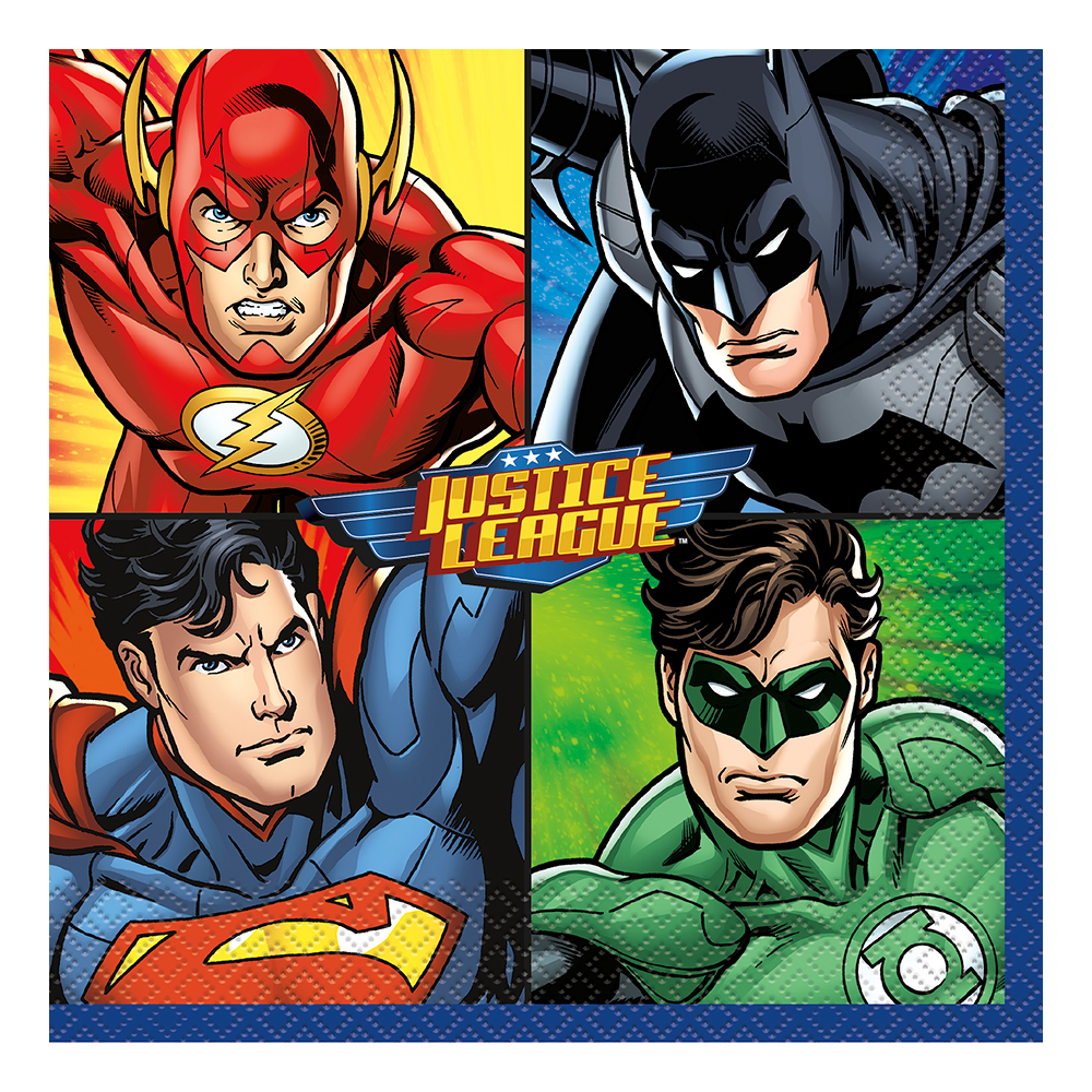 Servetter Justice League - 16-pack