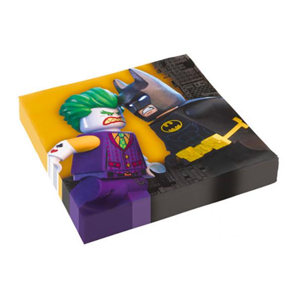 Servetter Lego Batman - 20-pack