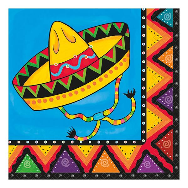 Servetter Mexico Fiesta - 20-pack