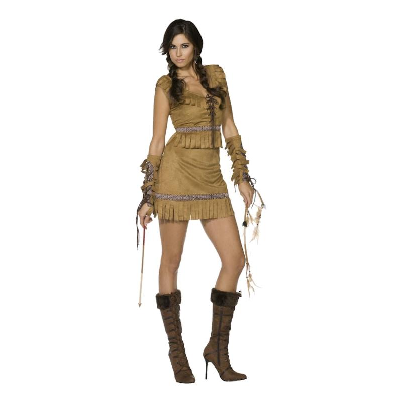 Pocahontas Deluxe Maskeraddräkt - Small