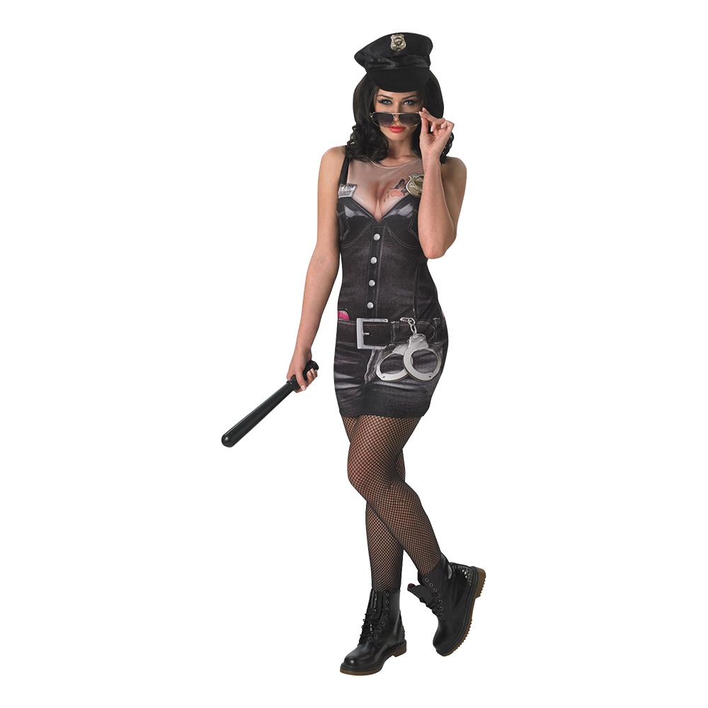 Tjuv   Polis till maskeradfest och halloween. 9e38e27d7038f