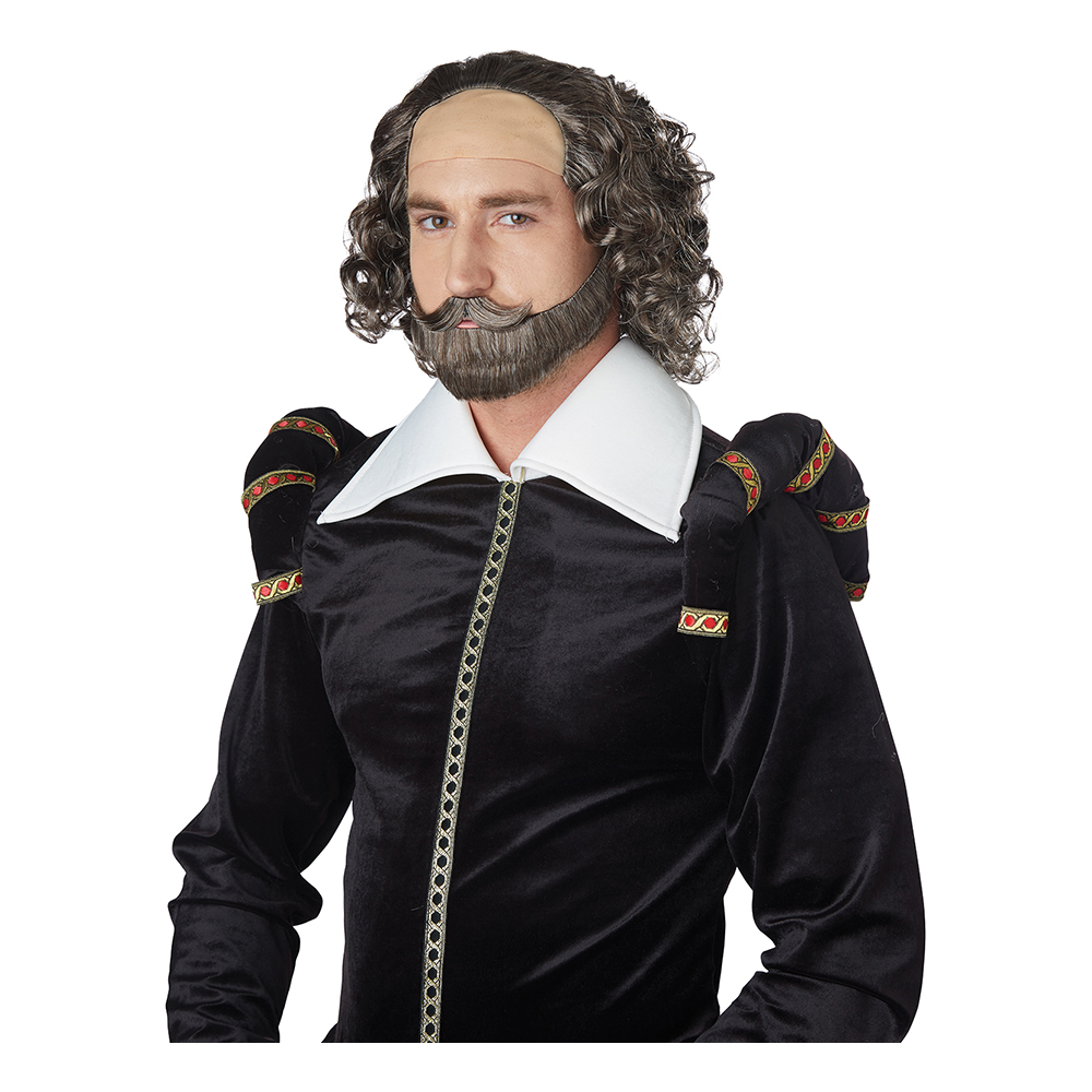 Shakespeare Peruk - One size