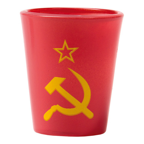 Shotglas Hammer And Sickle