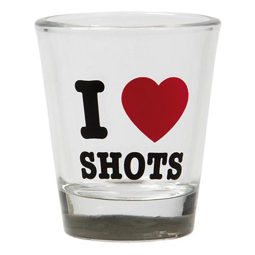 Shotglas I Love Shots