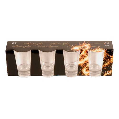 Shotglas Nyår - 4-pack