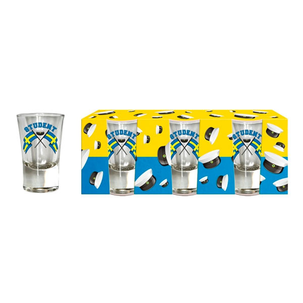 Shotglas Student - 3-pack
