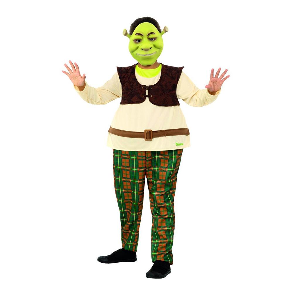 Shrek Barn Maskeraddräkt - Small