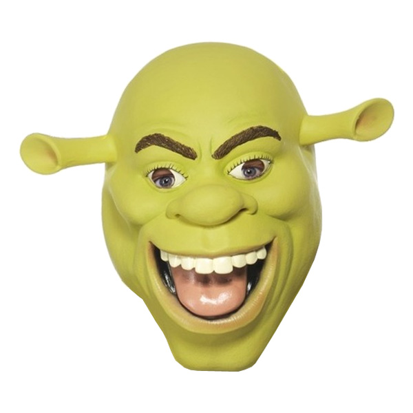 Shrek Latexmask - One size