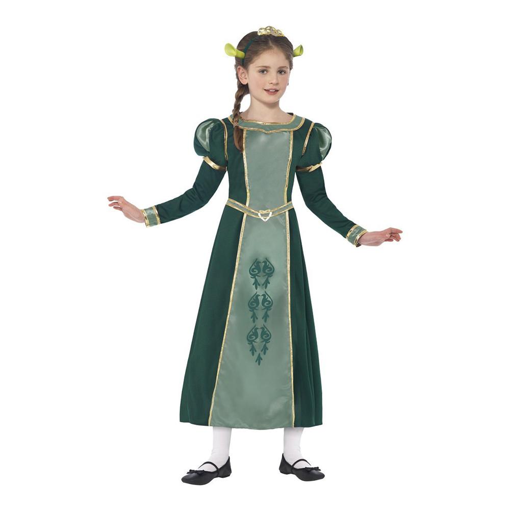 Shrek Prinsessan Fiona Barn Maskeraddräkt - Small