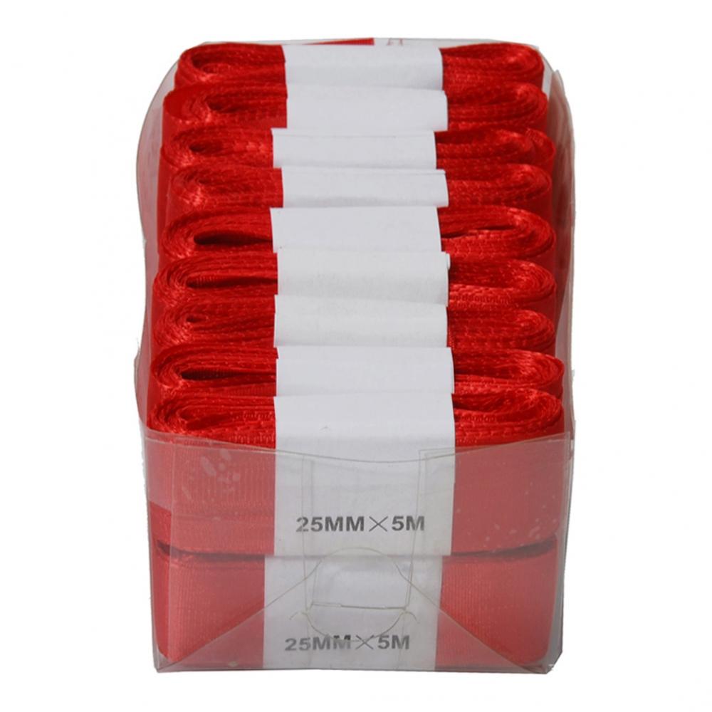 Sidenband Röd - 2,5cmx5m