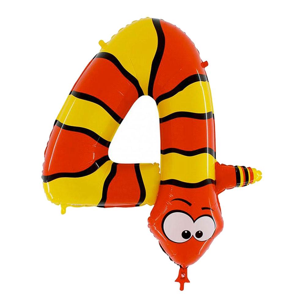 Sifferballong Djur - Siffra 4
