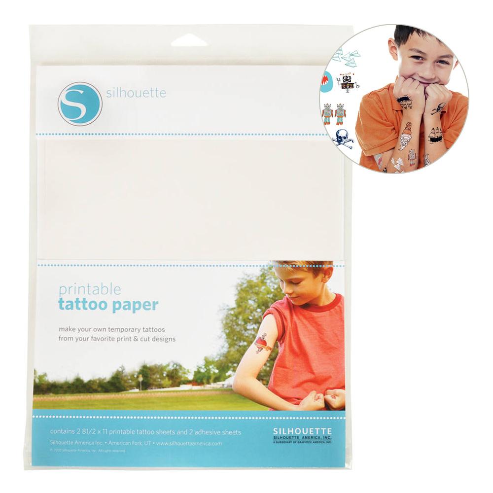 Silhouette Tatueringspapper - 2-pack