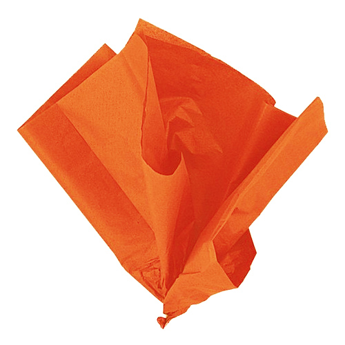 Silkespapper Orange - 10-pack