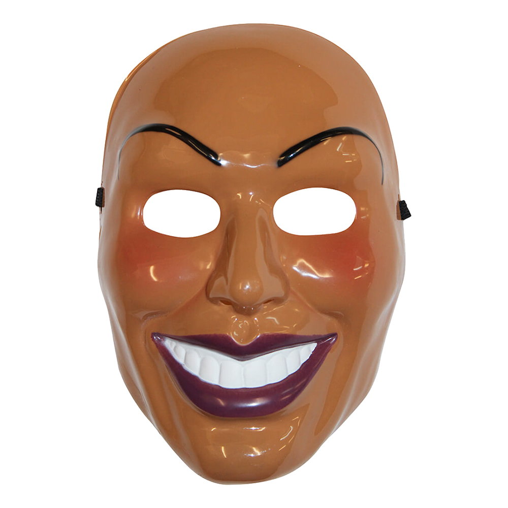 Sinister Smiling Woman Mask - One size