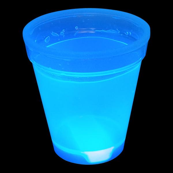 Självlysande Muggar - Blå