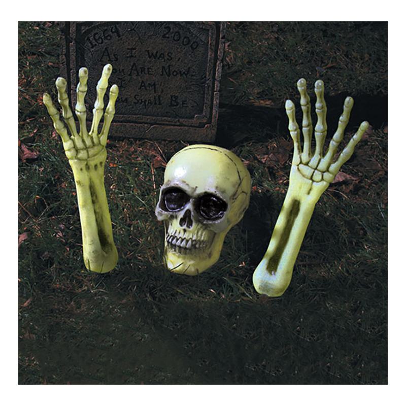 Självlysande Skelettdelar Prop