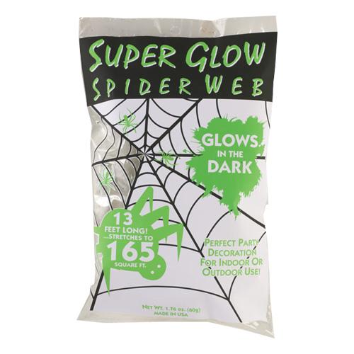 Självlysande Spindelnät - 60 gram