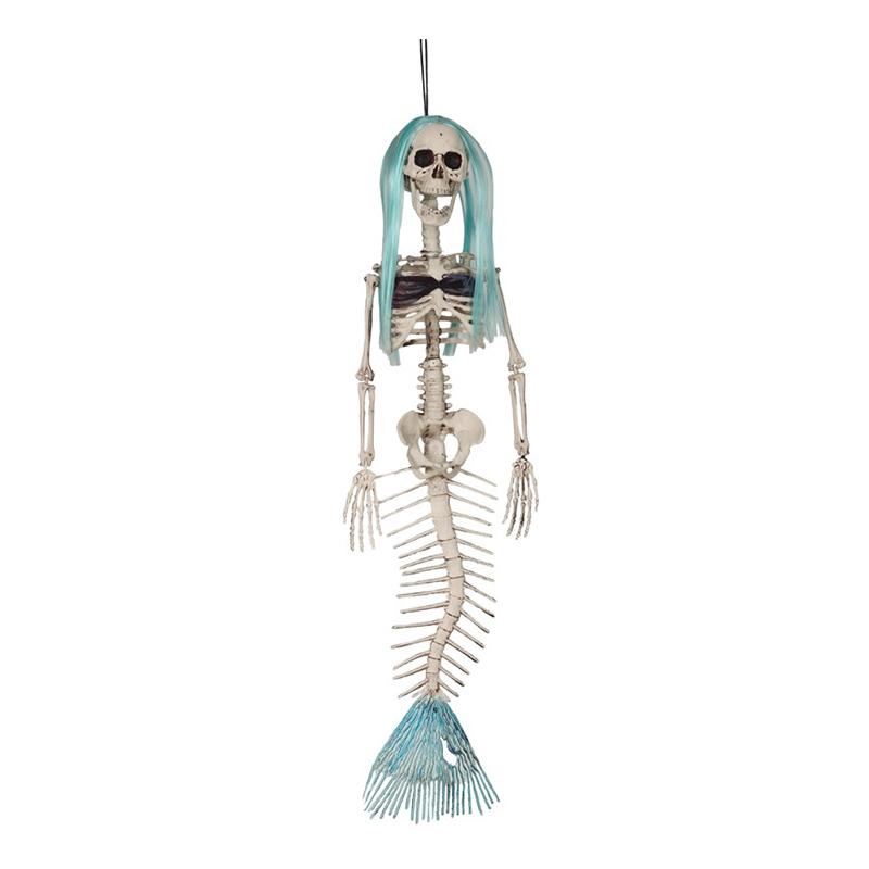 Sjöjungfru Skelett Stor Hängande Prop - 75 cm