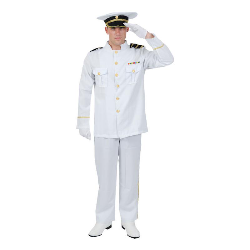 Sjöofficer Maskeraddräkt - Standard