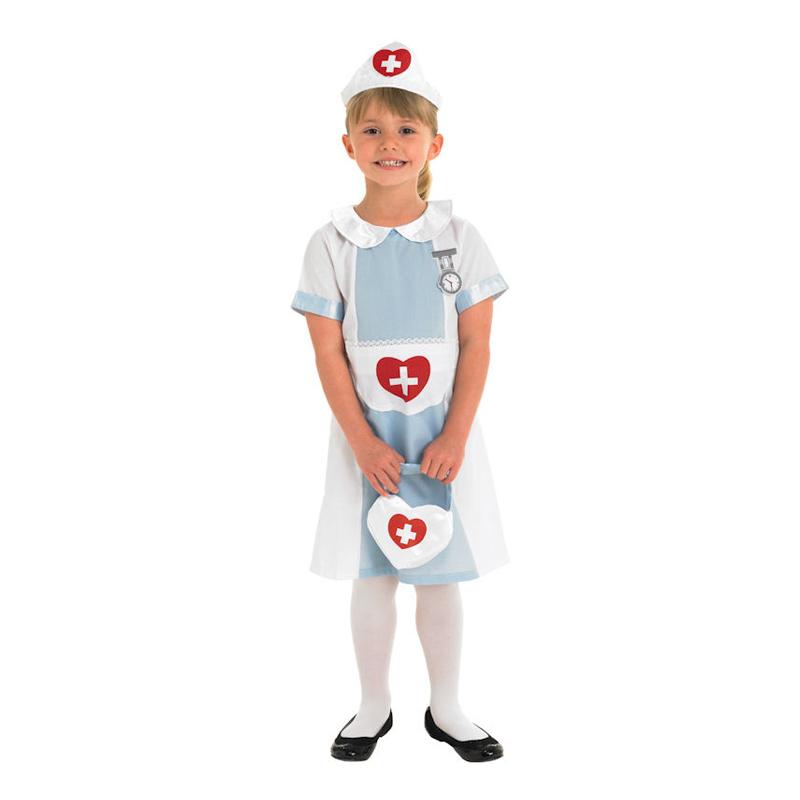Sjuksköterska Barn Maskeraddräkt - Small