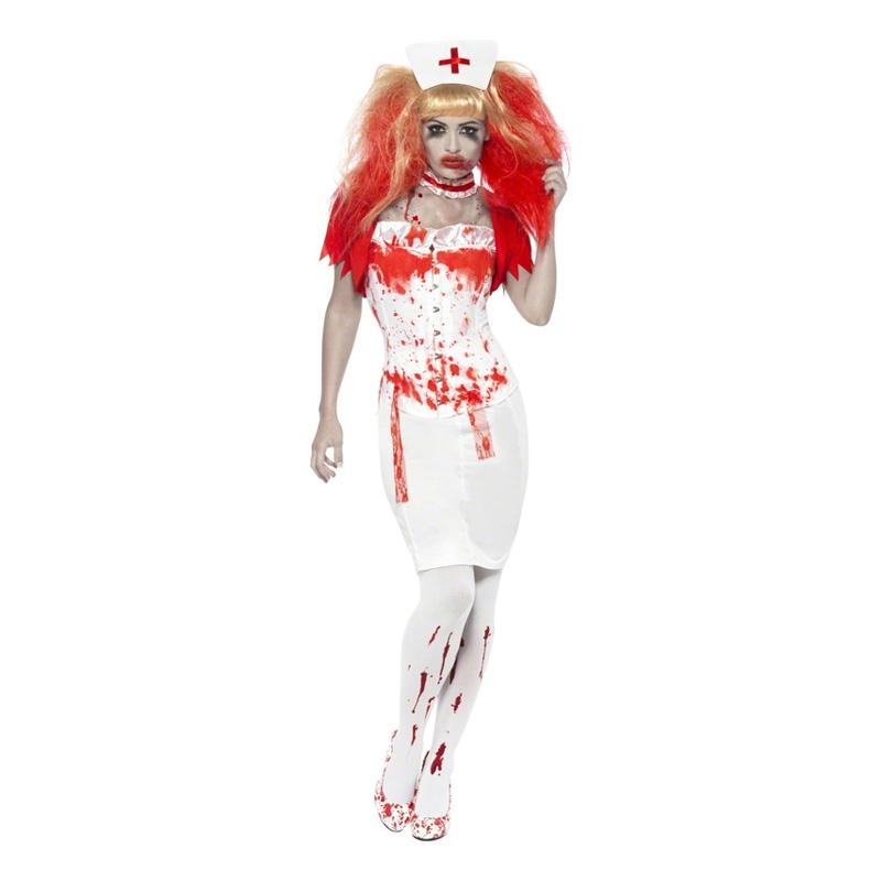 Sjuksköterska Halloween Maskeraddräkt - Medium