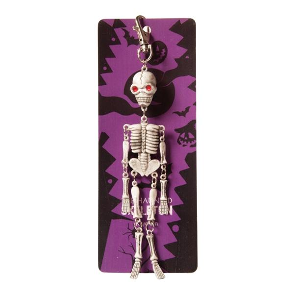 Skelett på Nyckelring