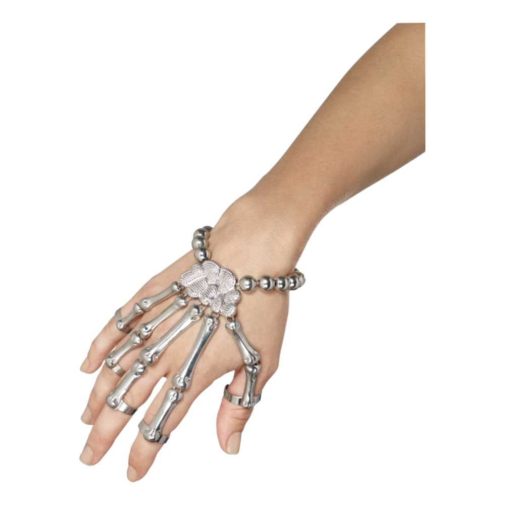 Skeletthand Smycke
