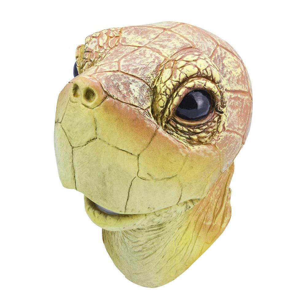 Djurmasker - Sköldpaddmask i Gummi - One size