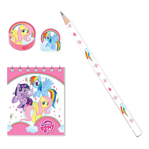 Skolstart Set My Little Pony Rainbow