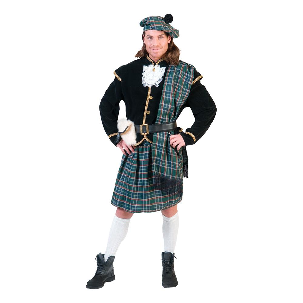 Skotsk Nationaldräkt Maskeraddräkt - Small