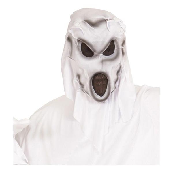 Skrikande Spöke med Huva Mask - One size