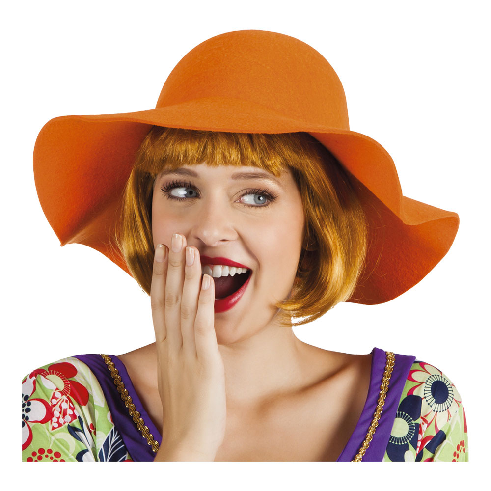Slokhatt Orange - One size Billigt 99 kr d66240b8ad0e4