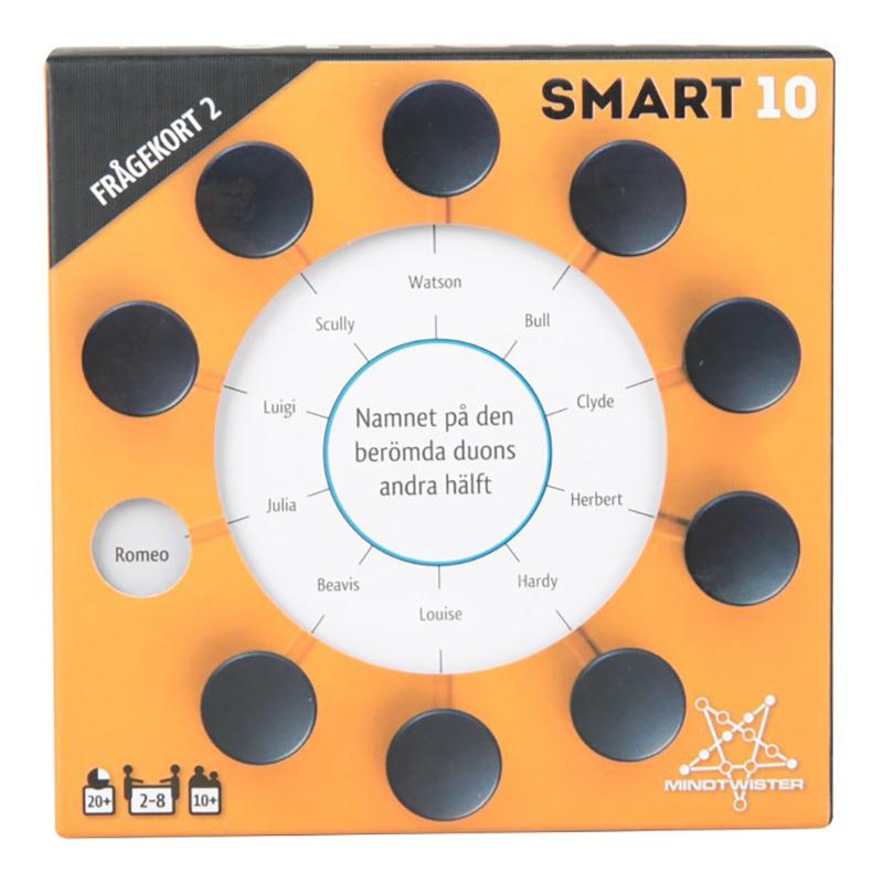 Smart 10 Frågespel - Extra Frågekort