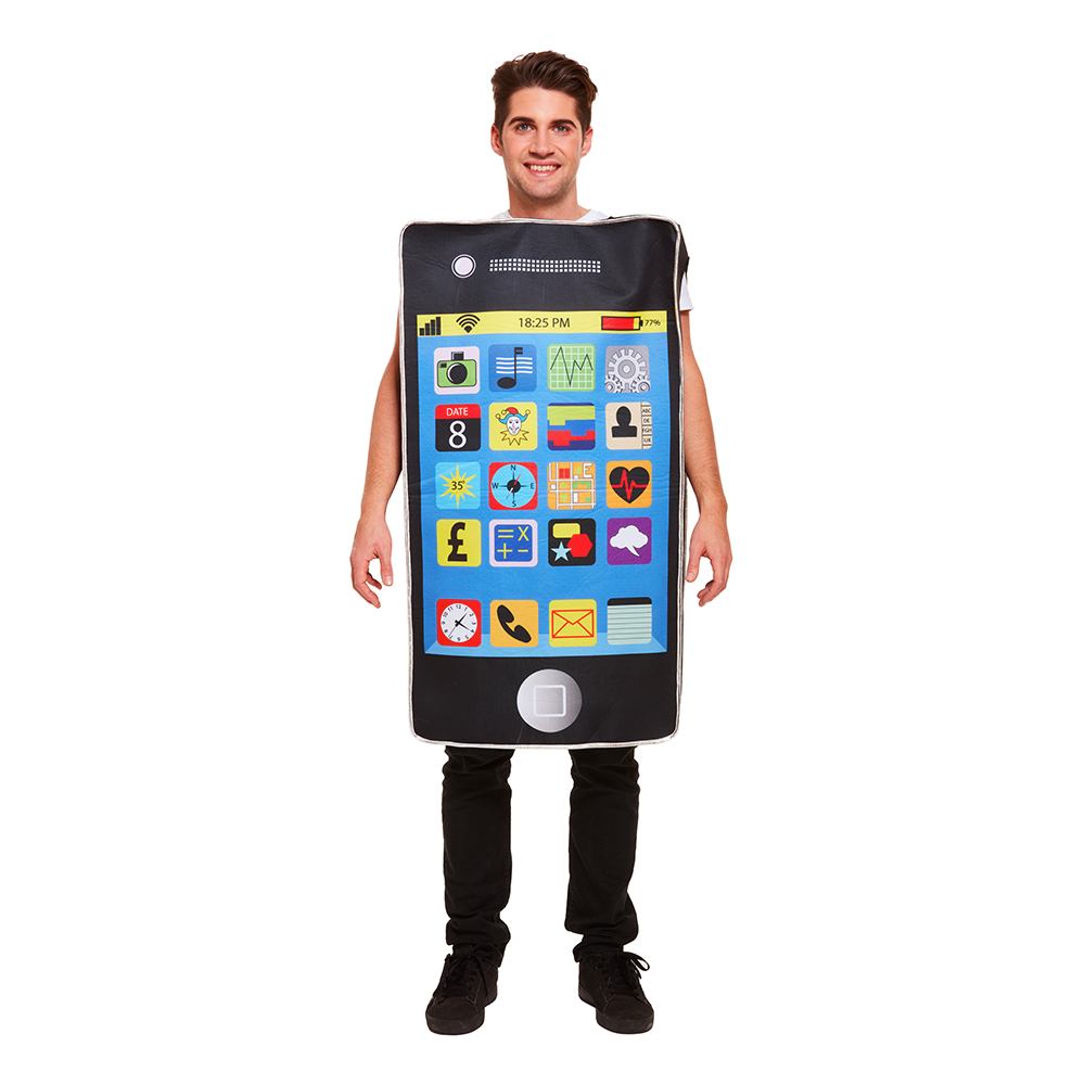 Smartphone Maskeraddräkt - One size