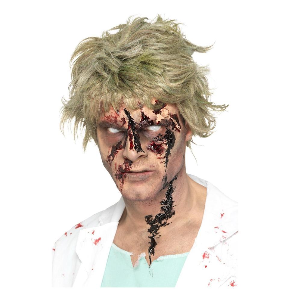 Smiffys Zombieblod Sår Svart - 25 g