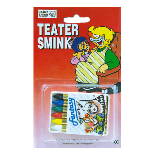 Sminkstift 6-pack - 6-pack