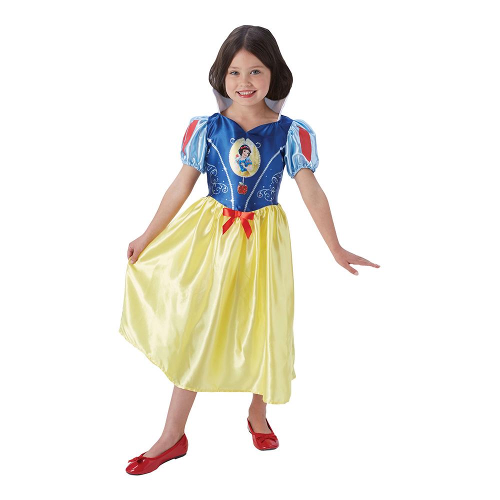 Snövit Fairytale Barn Maskeraddräkt - Medium