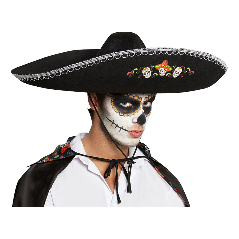 Sombrero Day of the Dead - One size