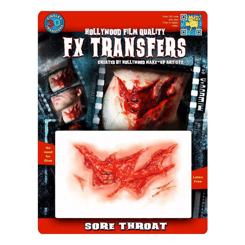 Sore Throat FX Transfers