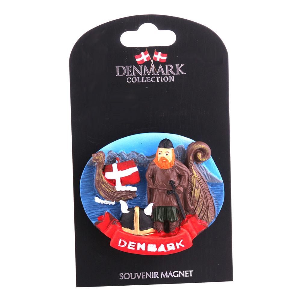 Souvenir Magnet Denmark Viking