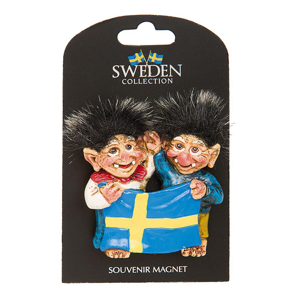 Souvenir Magnet Sverige Troll