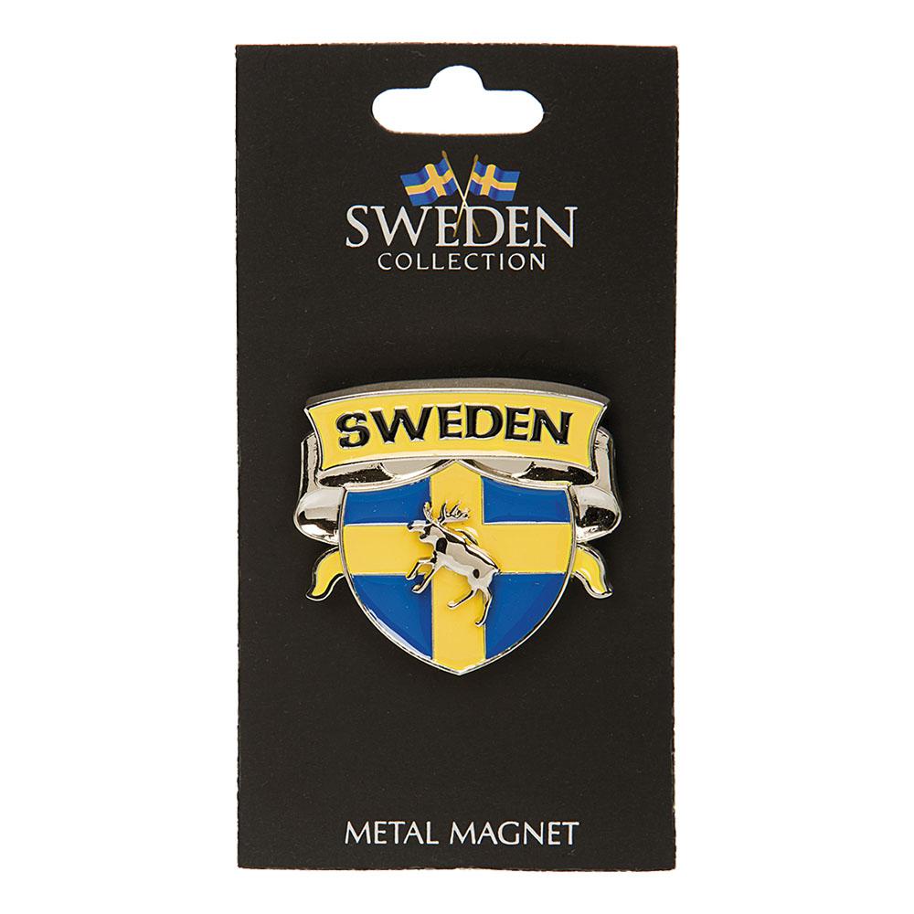 Souvenir Sköld Älg Sweden Magnet