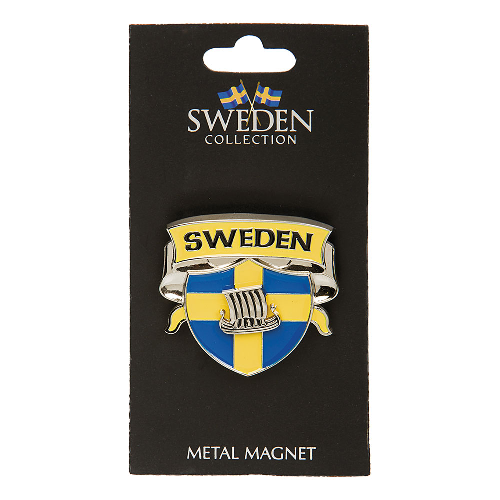 Souvenir Sköld Viking Sweden Magnet