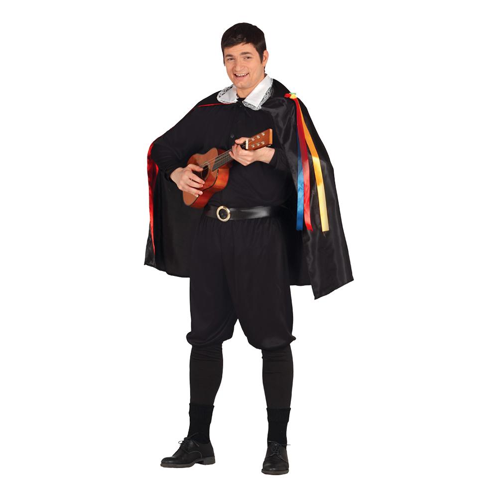 Spansk Musikant Maskeraddräkt - Large